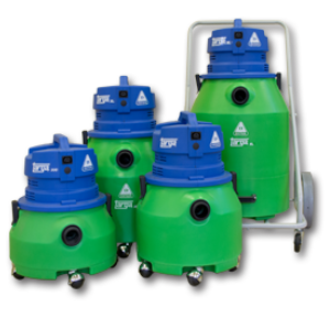 TARGA ECO SERIES CANISTER VACUUMS